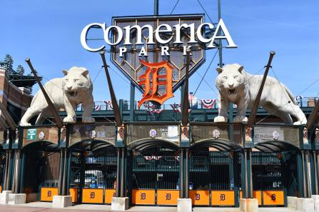 Detroit Tigers Stadium