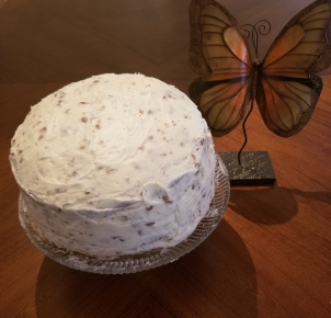 cake and butterfly pic